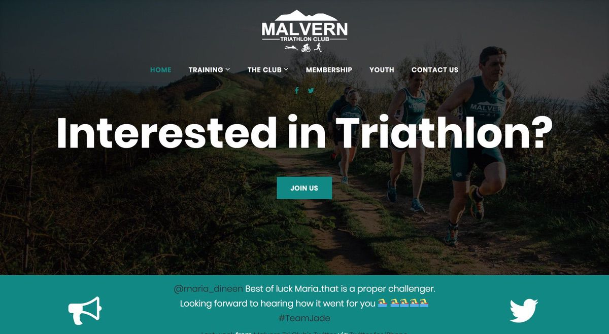 Malvern Triathlon Front Project