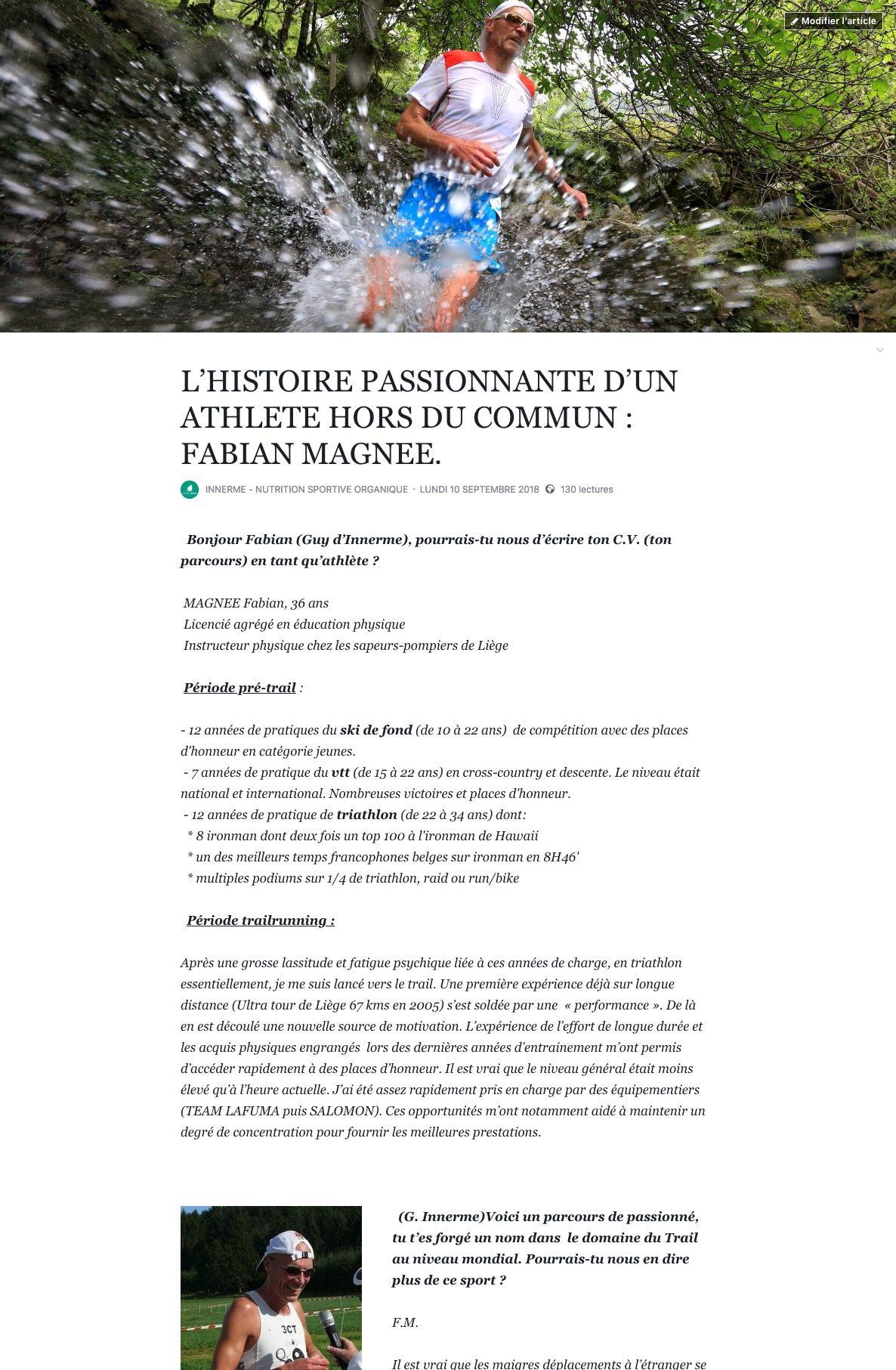 Innerme - Sport-article